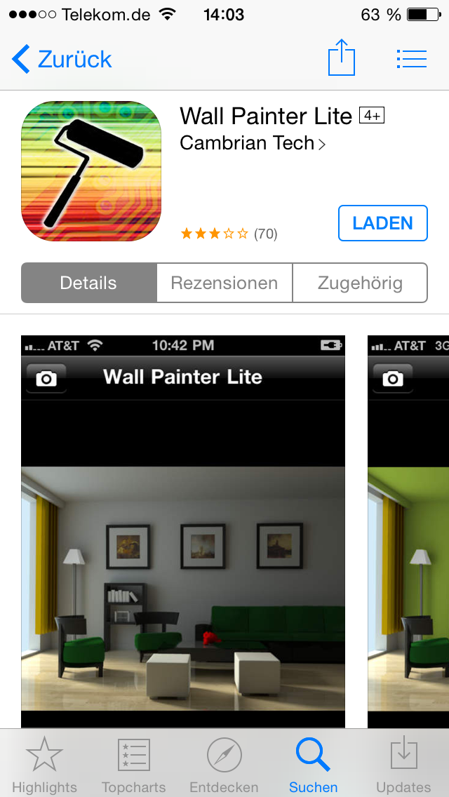 einrichtung apps im test immomaniac. Black Bedroom Furniture Sets. Home Design Ideas